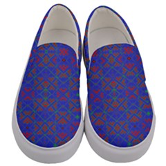 Matrix Moon Men s Canvas Slip Ons