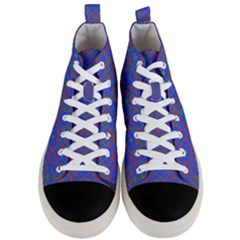 Matrix Moon Men s Mid Top Canvas Sneakers