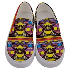 Spirit  Bulgarian Bee Men s Canvas Slip Ons