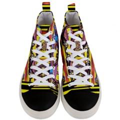 Spirit  Bulgarian Bee Men s Mid Top Canvas Sneakers
