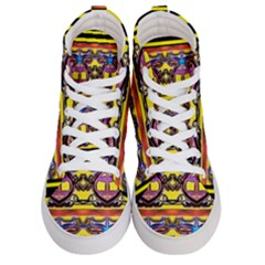 Spirit  Bulgarian Bee Men s Hi Top Skate Sneakers