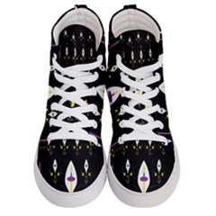 Quebec With Love Women s Hi Top Skate Sneakers