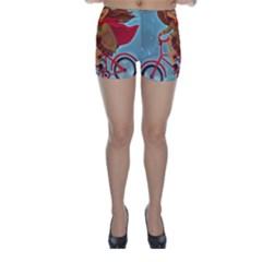Girl On A Bike Skinny Shorts