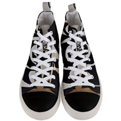 With Love Men s Mid Top Canvas Sneakers