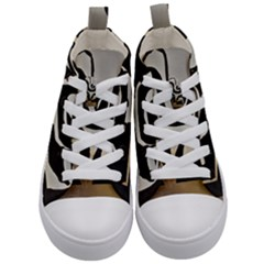 With Love Kid s Mid Top Canvas Sneakers