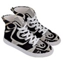 With Love Men s Hi-Top Skate Sneakers View3
