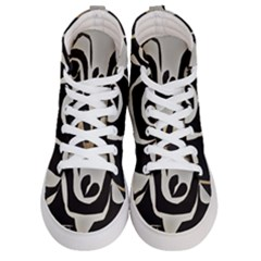 With Love Women s Hi Top Skate Sneakers