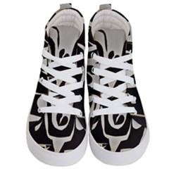 With Love Kid s Hi Top Skate Sneakers