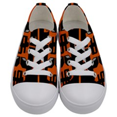 Give Me The Money 7286 Kids  Low Top Canvas Sneakers