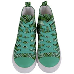 Sleep Sleep Women s Mid Top Canvas Sneakers