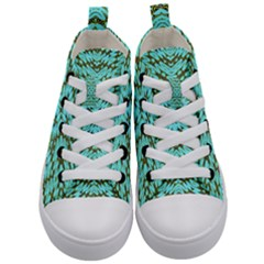 Pluto Venus Time Kid s Mid Top Canvas Sneakers