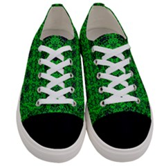 Green Martian Women s Low Top Canvas Sneakers
