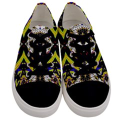 Space Gala Men s Low Top Canvas Sneakers