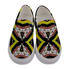 Space Gala Women s Canvas Slip Ons