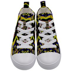 Space Gala Kid s Mid Top Canvas Sneakers