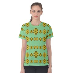 Sun Flowers For The Soul At Peace Women s Cotton Tee