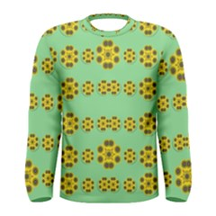 Sun Flowers For The Soul At Peace Men s Long Sleeve Tee