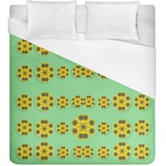 Sun Flowers For The Soul At Peace Duvet Cover (king Size)
