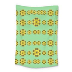Sun Flowers For The Soul At Peace Small Tapestry