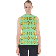 Sun Flowers For The Soul At Peace Shell Top