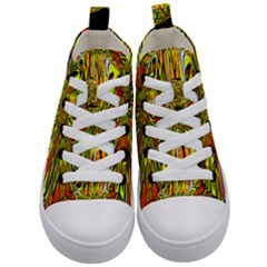 Flair Kid s Mid Top Canvas Sneakers