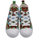 Digital Dot One Kid s Mid-Top Canvas Sneakers View1