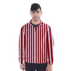 Red Stripes Wind Breaker (men)