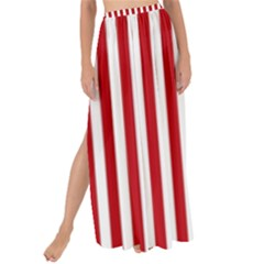 Red Stripes Maxi Chiffon Tie Up Sarong