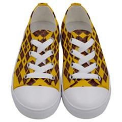 Ten Seventeen Kids  Low Top Canvas Sneakers