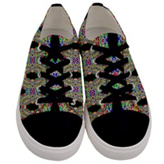Twinkle Star Men s Low Top Canvas Sneakers