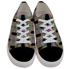 Twinkle Star Women s Low Top Canvas Sneakers