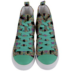 Twinkle Star Women s Mid Top Canvas Sneakers