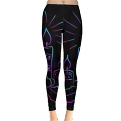 Advent Wreath Candles Advent Leggings
