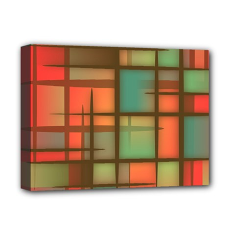 Background Abstract Colorful Deluxe Canvas 16  X 12