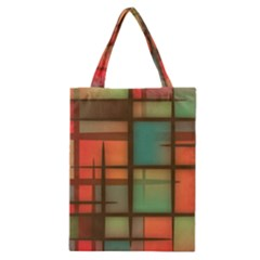 Background Abstract Colorful Classic Tote Bag