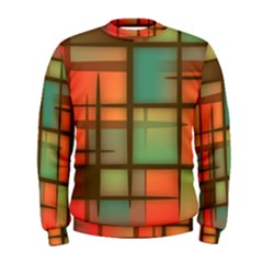 Background Abstract Colorful Men s Sweatshirt