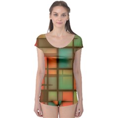 Background Abstract Colorful Boyleg Leotard