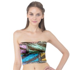 Colorful Painted Bricks Street Art Kits Art Tube Top
