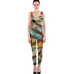 Colorful Painted Bricks Street Art Kits Art Onepiece Catsuit