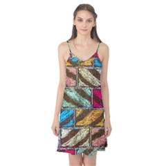 Colorful Painted Bricks Street Art Kits Art Camis Nightgown