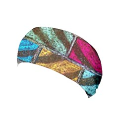 Colorful Painted Bricks Street Art Kits Art Yoga Headband