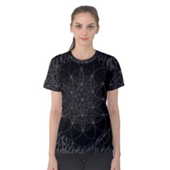 Sacred Geometry Music 144links Women s Cotton Tee