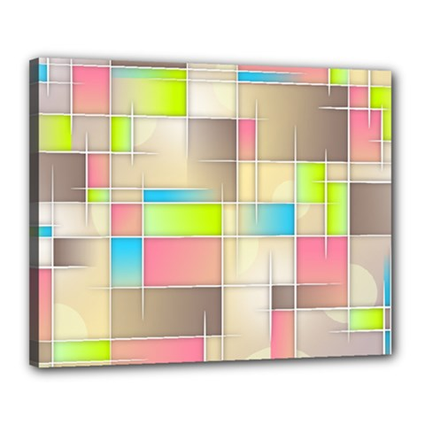 Background Abstract Grid Canvas 20  X 16