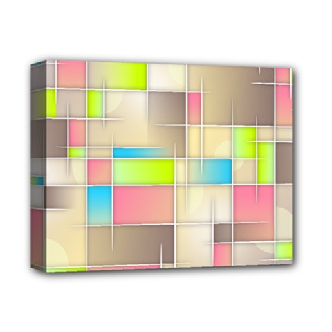 Background Abstract Grid Deluxe Canvas 14  X 11