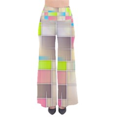 Background Abstract Grid Pants
