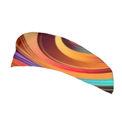 Abstract Colorful Background Wavy Stretchable Headband