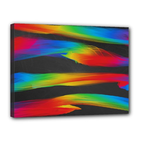 Colorful Background Canvas 16  X 12