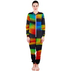 Colorful Background Onepiece Jumpsuit (ladies)