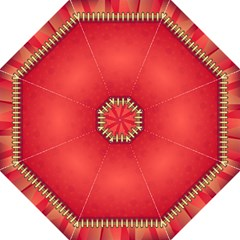 Background Red Abstract Folding Umbrellas