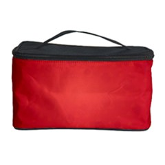 Background Red Abstract Cosmetic Storage Case